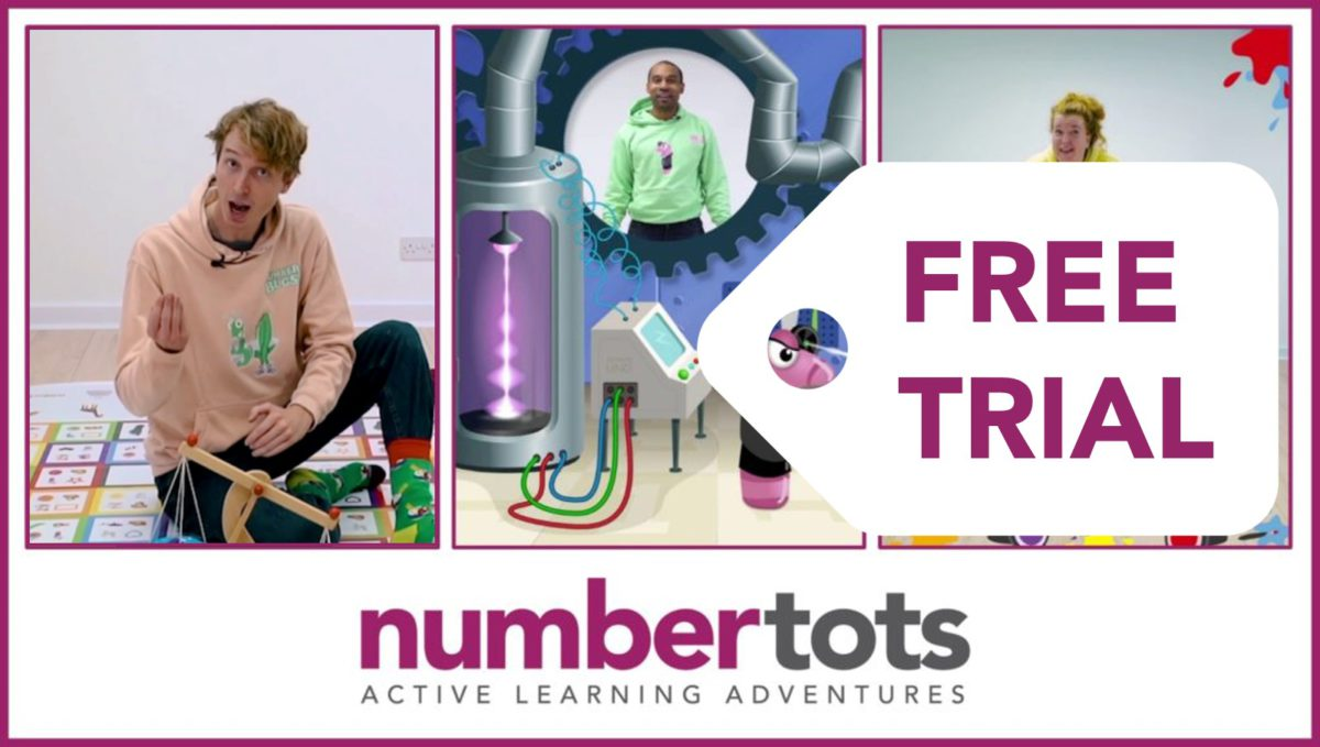 Numbertots Video Subscription – Educators, Free Trial
